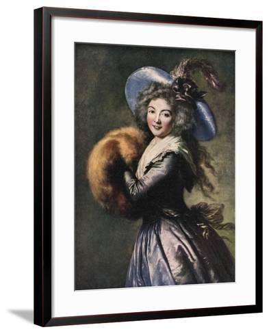 Madame Mole-Reymond, 1786-Elisabeth Louise Vigee-LeBrun-Framed Art Print
