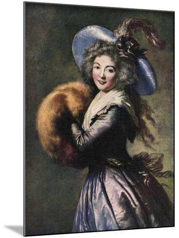 Madame Mole-Reymond, 1786-Elisabeth Louise Vigee-LeBrun-Mounted Giclee Print