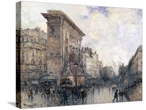 Arc De Triomphe De La Porte St-Denis, Paris, C1875-1926-Frank Myers Boggs-Stretched Canvas Print