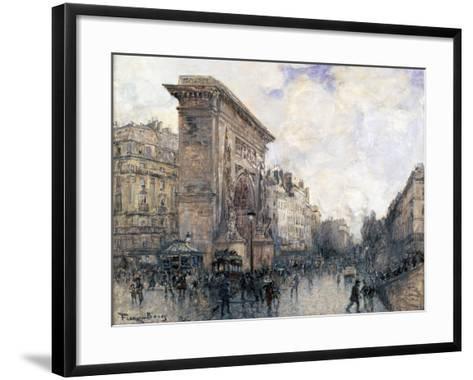 Arc De Triomphe De La Porte St-Denis, Paris, C1875-1926-Frank Myers Boggs-Framed Art Print