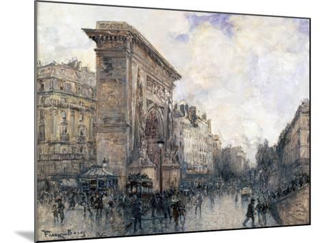 Arc De Triomphe De La Porte St-Denis, Paris, C1875-1926-Frank Myers Boggs-Mounted Giclee Print