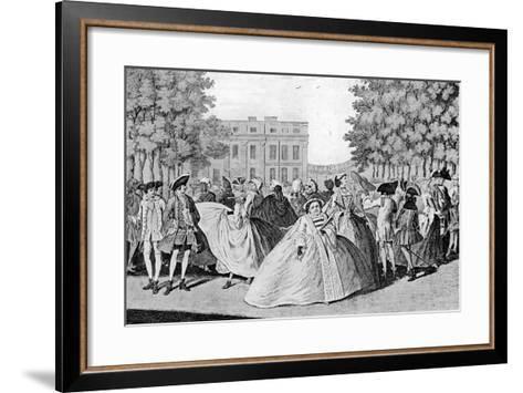Taste a La Mode, 1745-F Patton-Framed Art Print