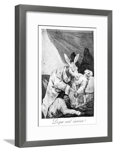 Of What Ill He Die?, 1799-Suzanne Valadon-Framed Art Print