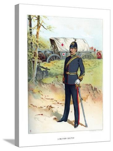 A Military Doctor, C1890-Frank Teller-Stretched Canvas Print