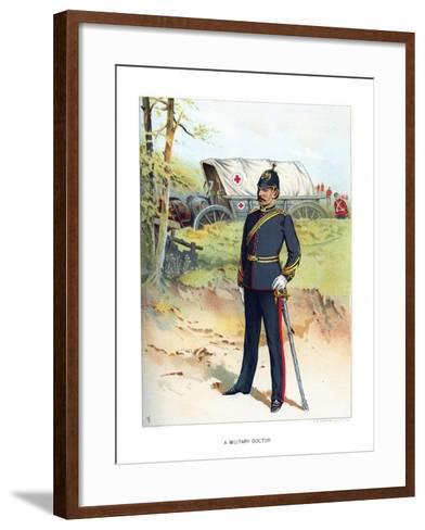A Military Doctor, C1890-Frank Teller-Framed Art Print