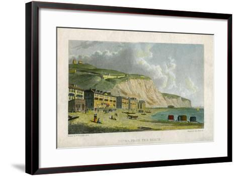Dover, from the Beach, 19th Century- Francis-Framed Art Print