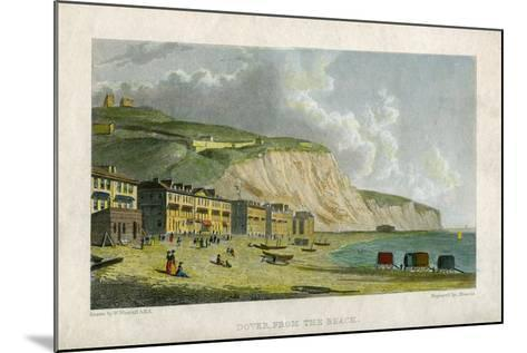 Dover, from the Beach, 19th Century- Francis-Mounted Giclee Print