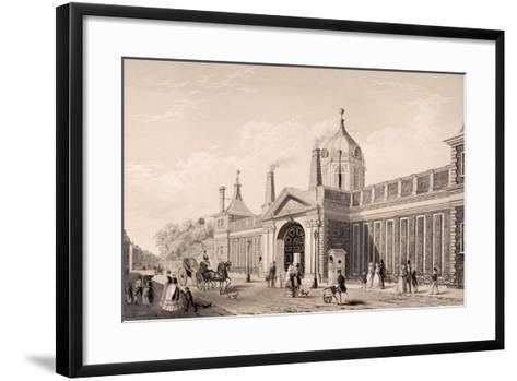 British Museum, London, C1845-Frank Trulock-Framed Art Print