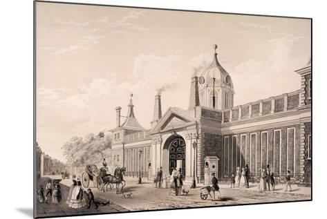 British Museum, London, C1845-Frank Trulock-Mounted Giclee Print