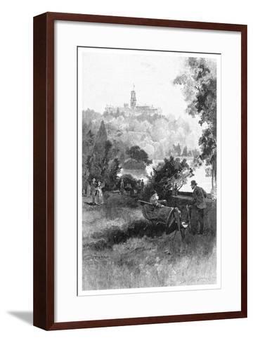 Government House, Melbourne, Victoria, Australia, 1886-Frederic B Schell-Framed Art Print