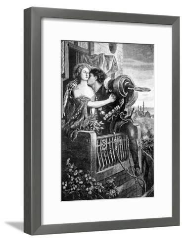 Scene from Shakespeare's Romeo and Juliet, C1860S-Ford Madox Brown-Framed Art Print