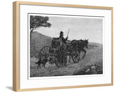 A Colac Rabbit Trapper, 1886-Frederic B Schell-Framed Art Print