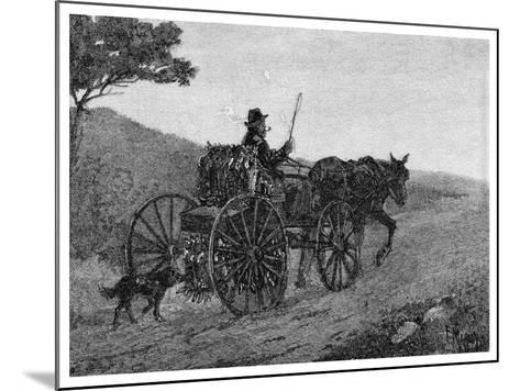 A Colac Rabbit Trapper, 1886-Frederic B Schell-Mounted Giclee Print