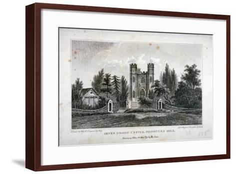 Severndroog Castle, Shooter's Hill, Woolwich, Kent, 1808-FR Hay-Framed Art Print