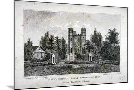 Severndroog Castle, Shooter's Hill, Woolwich, Kent, 1808-FR Hay-Mounted Giclee Print