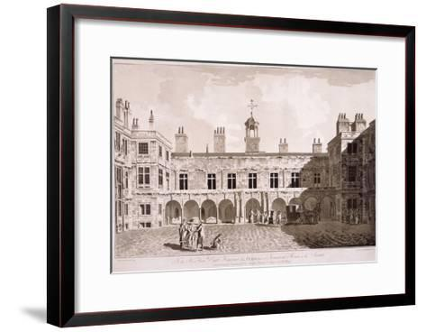 Somerset House, London, 1777-Francis Jukes-Framed Art Print
