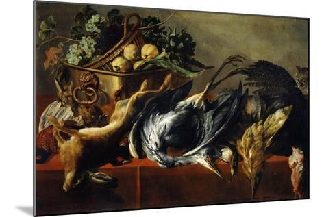 Still Life with an Ebony Chest, 17th Century-Frans Snyders-Mounted Giclee Print
