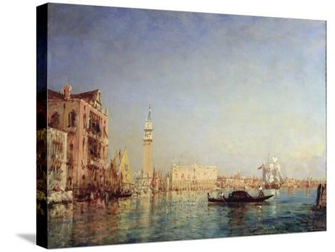 Venice, 19th Century-Felix Francois Georges Philibert Ziem-Stretched Canvas Print