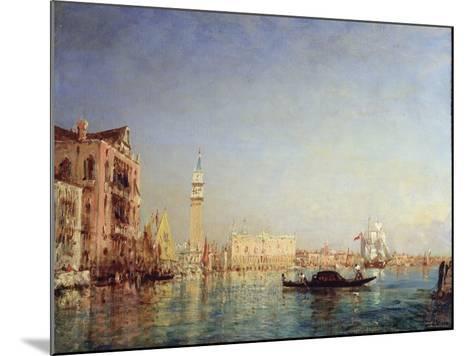 Venice, 19th Century-Felix Francois Georges Philibert Ziem-Mounted Giclee Print