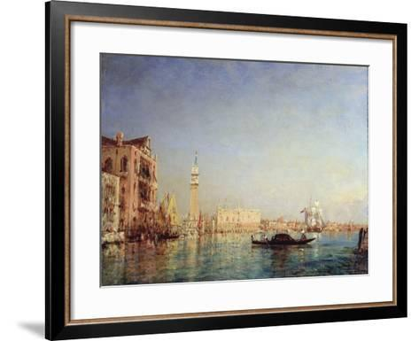 Venice, 19th Century-Felix Francois Georges Philibert Ziem-Framed Art Print