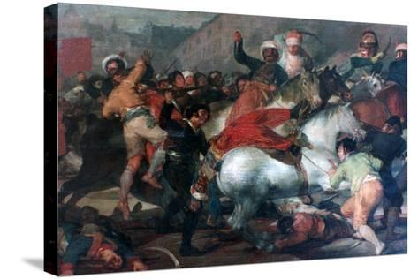 The Second of May 1808: Charge of the Mamelukes, 1814-Francisco de Goya-Stretched Canvas Print