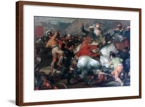 The Second of May 1808: Charge of the Mamelukes, 1814-Francisco de Goya-Framed Art Print