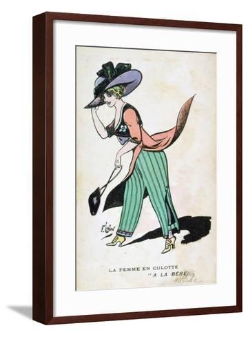 The Woman in Breeches, 20th Century-Francois Lafon-Framed Art Print