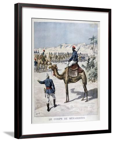 Mehariste Corps, 1894-Frederic Lix-Framed Art Print