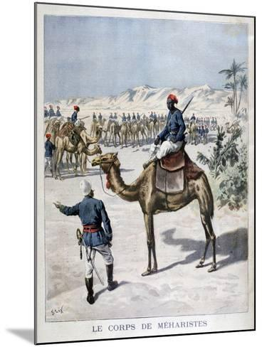 Mehariste Corps, 1894-Frederic Lix-Mounted Giclee Print