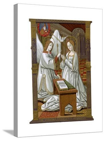 The Annunciation, C1503-Franz Kellerhoven-Stretched Canvas Print