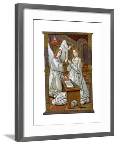 The Annunciation, C1503-Franz Kellerhoven-Framed Art Print