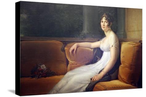 Portrait of Josephine, 1801-Francois Pascal Simon Gerard-Stretched Canvas Print