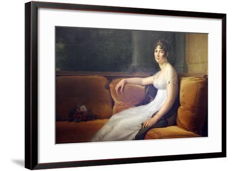 Portrait of Josephine, 1801-Francois Pascal Simon Gerard-Framed Art Print