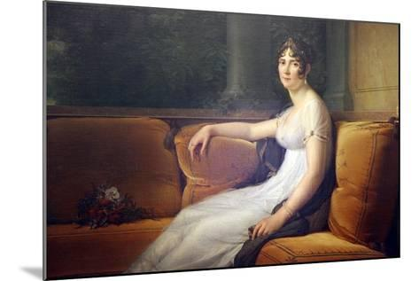 Portrait of Josephine, 1801-Francois Pascal Simon Gerard-Mounted Giclee Print