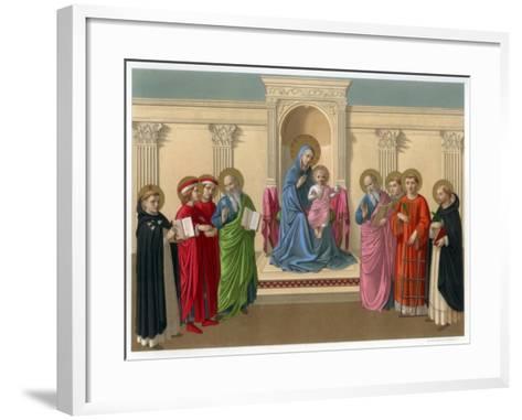 Madonna Delle Ombre (Madonna of the Shadows), C1450-Franz Kellerhoven-Framed Art Print