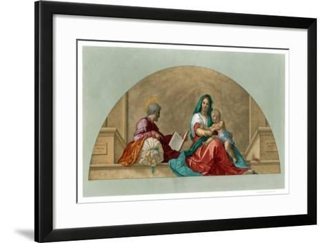 Madonna Del Sacco (Madonna with the Sack), 1525-Franz Kellerhoven-Framed Art Print