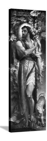 John the Baptist, 1926-Frederic Shields-Stretched Canvas Print