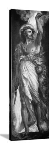 Elijah, 1926-Frederic Shields-Stretched Canvas Print