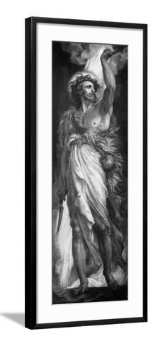 Elijah, 1926-Frederic Shields-Framed Art Print