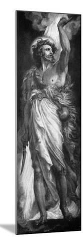 Elijah, 1926-Frederic Shields-Mounted Giclee Print