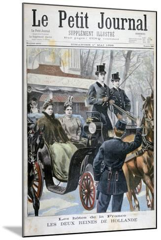 The Two Queens of Holland Visiting Paris, France, 1898-F Meaulle-Mounted Giclee Print