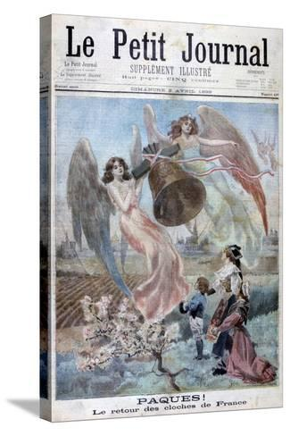 Easter!, 1899-F Meaulle-Stretched Canvas Print