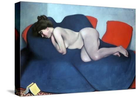 The Sleeper, 1908-F?lix Vallotton-Stretched Canvas Print