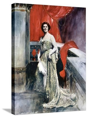 Miriam Clements, Stage Actress, C1902-Fellows Wilson-Stretched Canvas Print