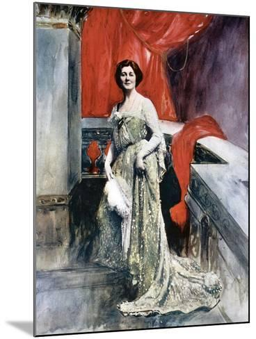 Miriam Clements, Stage Actress, C1902-Fellows Wilson-Mounted Giclee Print