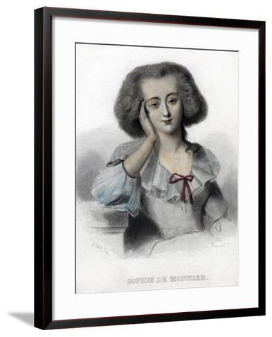 Sophie De Monnier, 19th Century- Ferdinand-Framed Art Print