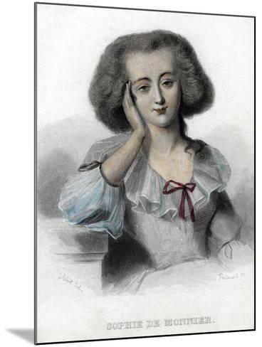 Sophie De Monnier, 19th Century- Ferdinand-Mounted Giclee Print