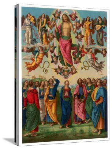 The Ascension of Christ, 1496-1498-Franz Kellerhoven-Stretched Canvas Print