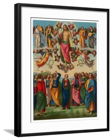 The Ascension of Christ, 1496-1498-Franz Kellerhoven-Framed Art Print