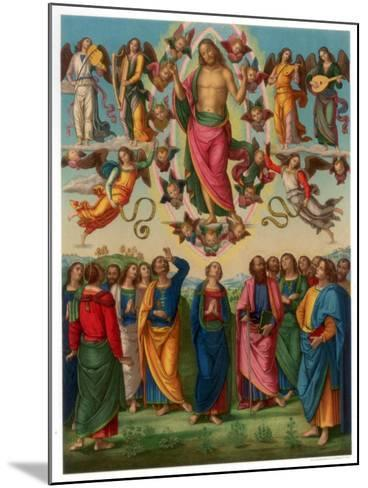 The Ascension of Christ, 1496-1498-Franz Kellerhoven-Mounted Giclee Print